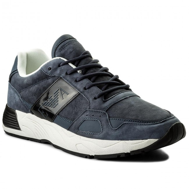 1b56175fe3 Sneakers EMPORIO ARMANI - X4X220 XL188 D879 Navy Navy - Sneakers ...