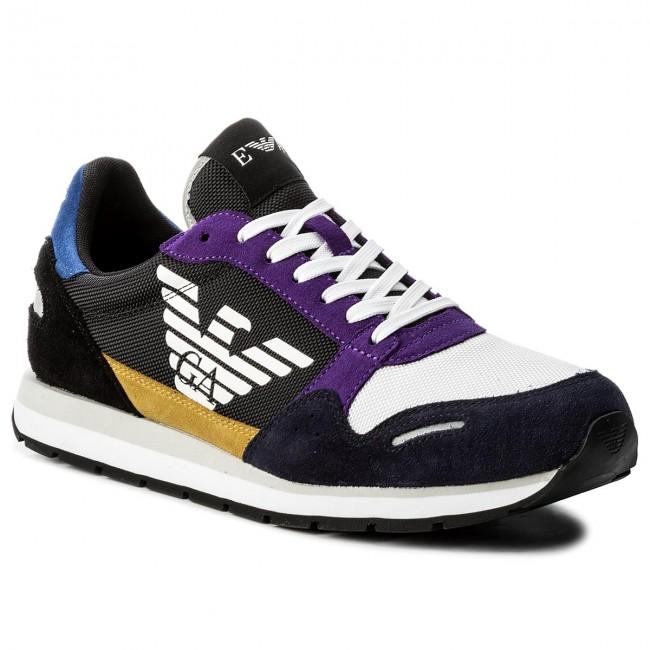 185c20cddb Sneakers EMPORIO ARMANI - X4X215 XL200 A007 Navy Multicolor ...