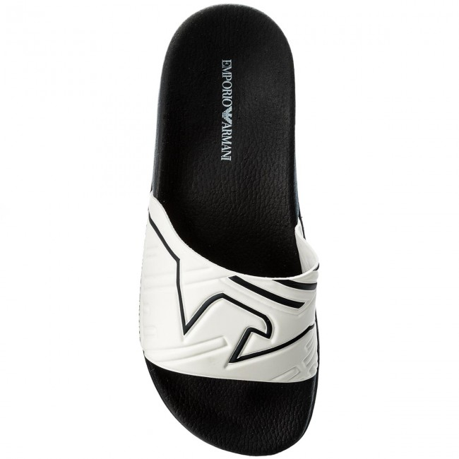 Slides EMPORIO ARMANI - X4P076 XL272 A038 Blue White - Clogs and mules -  Mules and sandals - Men s shoes - www.efootwear.eu 1ffec3b232