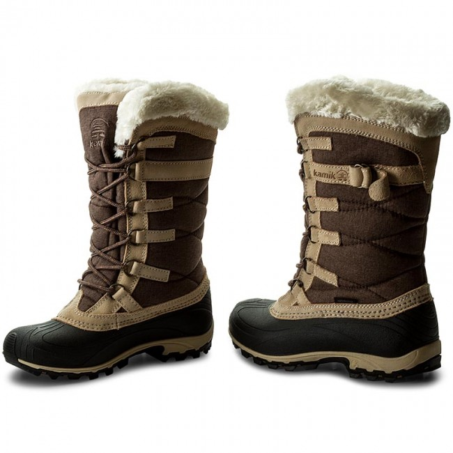 Snow Boots KAMIK - Snowvalley NK2079 Brown - Winter boots - High boots and  others - Women s shoes - www.efootwear.eu b686cae7245