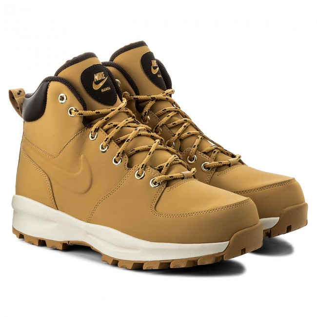 save off c351e e4701 Shoes NIKE - Manoa Leather 454350 700 Haystack Haystack Velvet Brown -  Trekker boots - High boots and others - Men s shoes - www.efootwear.eu