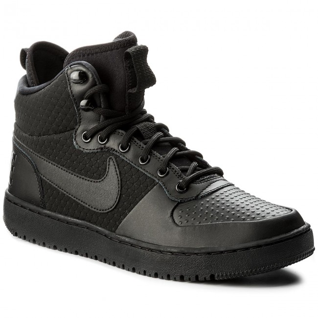 Buty NIKE - Court Borough Mid Winter AA0547 002 Black Black ... 39b2887fc5
