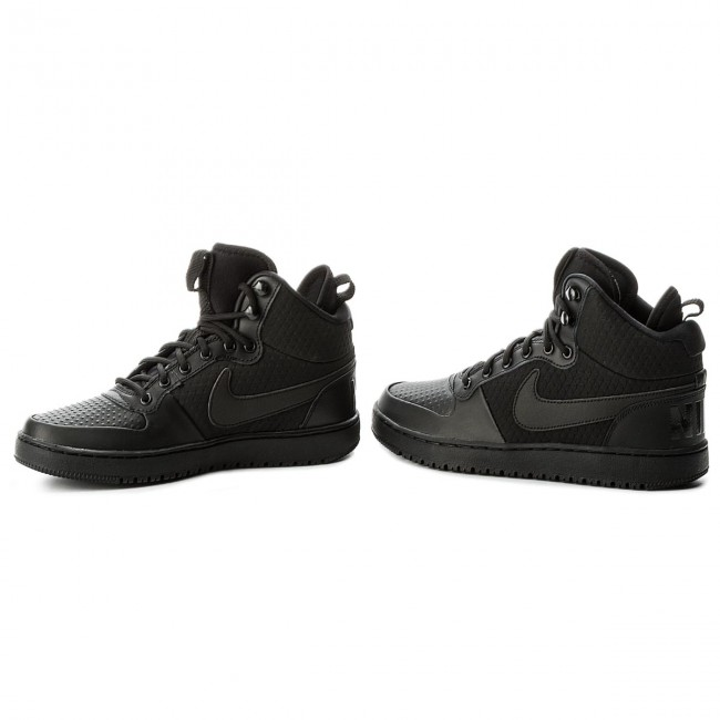size 40 ed43e 735db Buty NIKE - Court Borough Mid Winter AA0547 002 Black Black