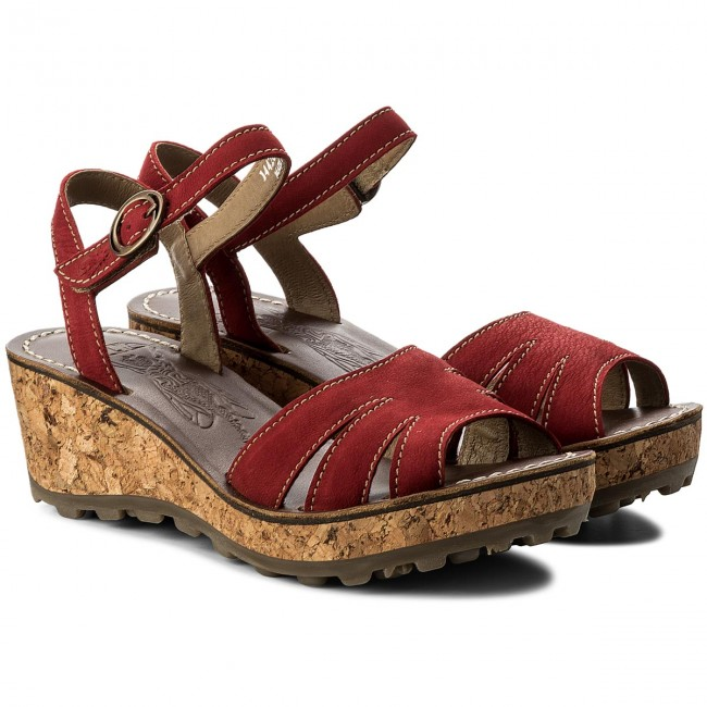 Sandalen FLY LONDON - Goosfly P144265006 Lipstick Red 7Rpy4