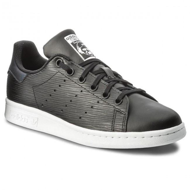 timeless design dc489 3a9fd Shoes adidas - Stan Smith J CM8191 Cblack Cblack Silvmt