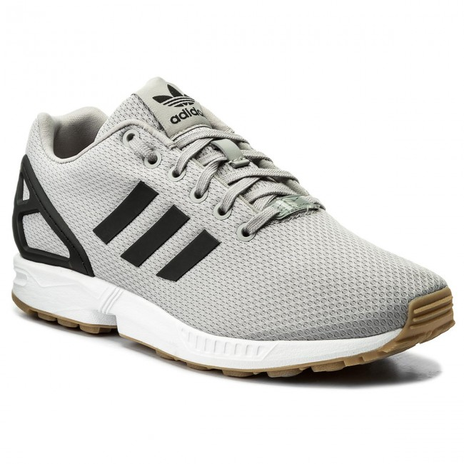 4e590308c4d37 Shoes adidas - Zx Flux CQ2836 Mgsogr Cblack Gum3 - Sneakers - Low ...