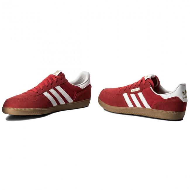scarpe adidas leonero cq1096 scarle gum4 / ftwwht / gum4 scarle scarpe basse ac28cd