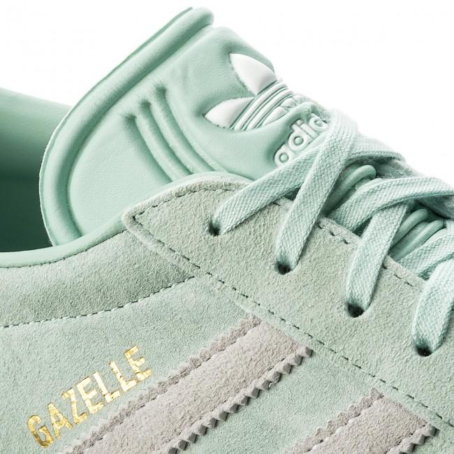 best service f2912 ff350 Shoes adidas - Gazelle CQ2189 Ashgrn Ftwwht Blutin