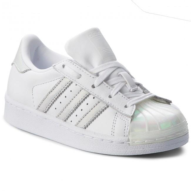 Shoes adidas - Superstar C CQ2734 Ftwwht/Ftwwht/Ftwwht