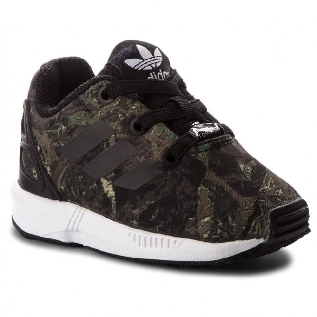 e85aee05483ad Shoes adidas - Zx Flux El I CM8122 Cblack Cblack Ftwwht - Laced ...