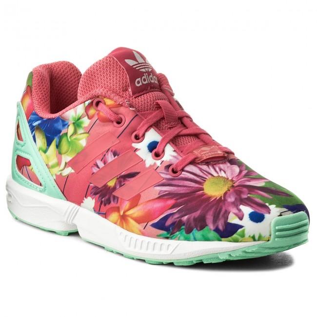 wholesale dealer a9301 2990f Shoes adidas - Zx Flux C CM8129 ReapnkReapnkFtwwht