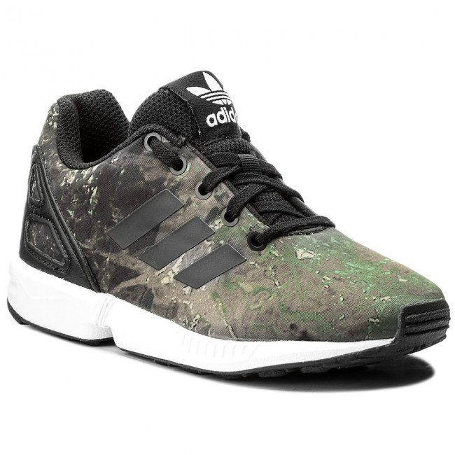 2ffb604a565b7 Shoes adidas - Zx Flux C CM8130 Cblack Cblack Ftwwht - Laced shoes ...