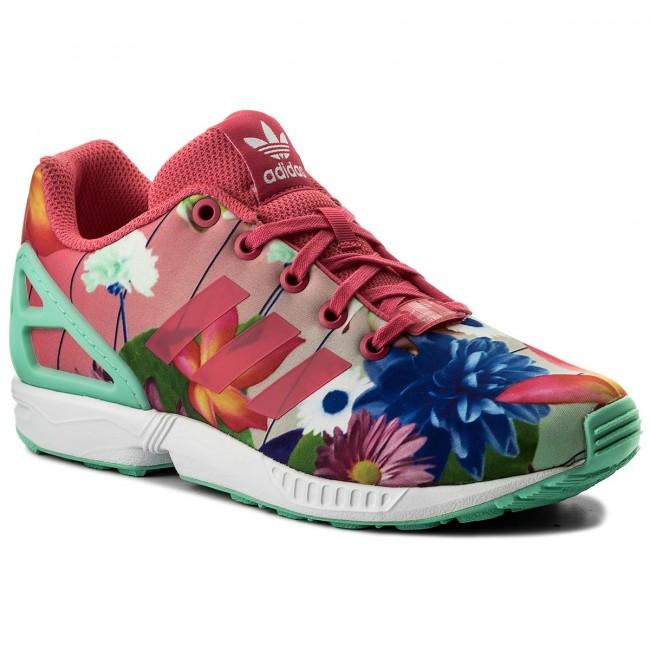Shoes adidas - Zx Flux J CM8135 Reapnk/Reapnk/Ftwwht