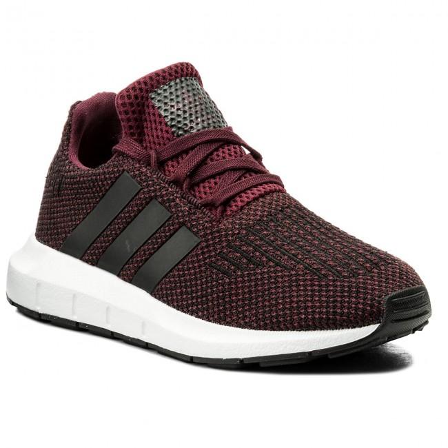 c09379c99a4bff Shoes adidas - Swift Run C CQ2663 Maroon Cblack Ftwwht - Laced shoes ...
