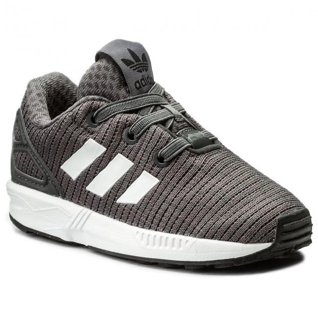 b0dcec9eb Shoes adidas - Zx Flux El I CM8121 Grefiv Cblack Ftwwht - Laced ...