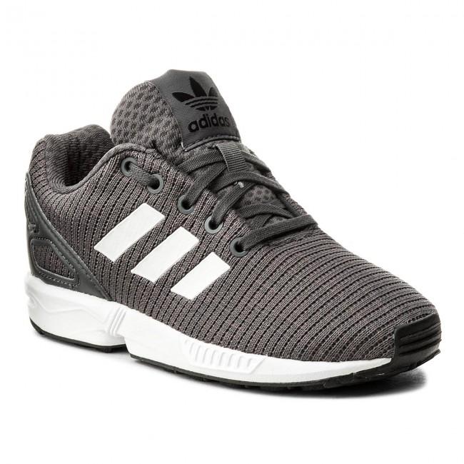 01446e40f7513b Shoes adidas - Zx Flux C CM8128 Grefiv Cblack Ftwwht - Laced shoes ...