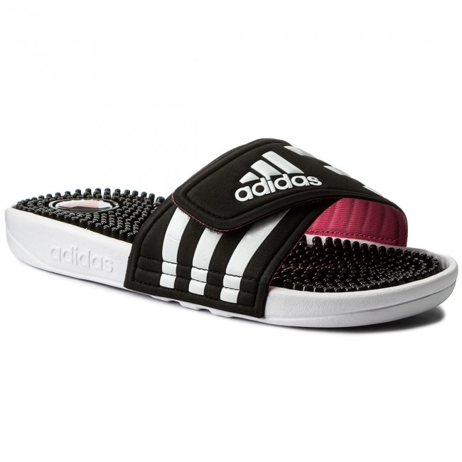 diapositive adidas adissage w b23253 cblack / ftwwht / suppnk beach