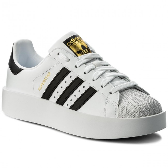 Shoes adidas - Superstar Bold W BA7666 Ftwwht/Cblack/Goldmt