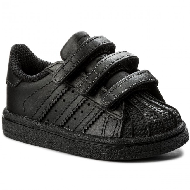 023beb8d1a7cc Shoes adidas - Superstar Cf I BZ0417 Cblack Cblack Cblack - Velcro ...