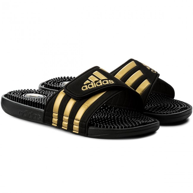 new product acdca 2b495 Slides adidas - adissage CM7924 CblackGoldmtCblack - Clogs and mules -  Mules and sandals - Mens shoes - www.efootwear.eu