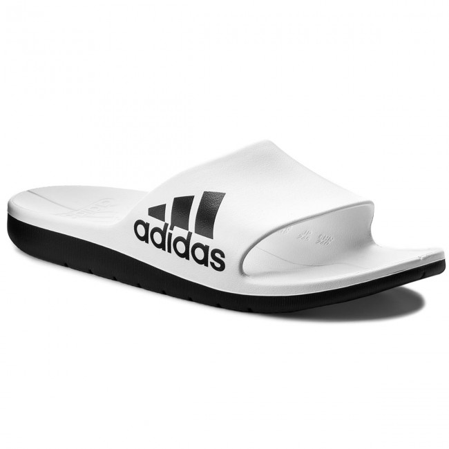 1a84308d7 Slides adidas - Aqualette Cf CM7927 Ftwwht Cblack Cblack - Clogs and ...