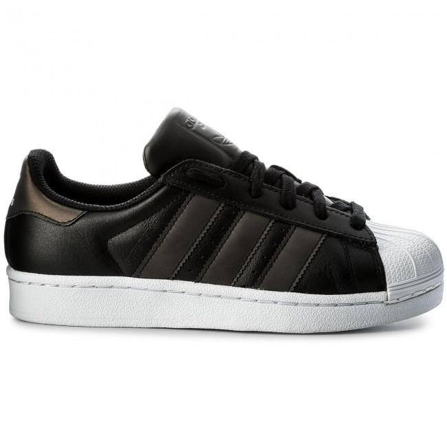 a6848b2fd Shoes adidas - Superstar J CQ2688 Cblack/Cblack/Ftwwht - Sneakers - Low  shoes - Women's shoes - efootwear.eu