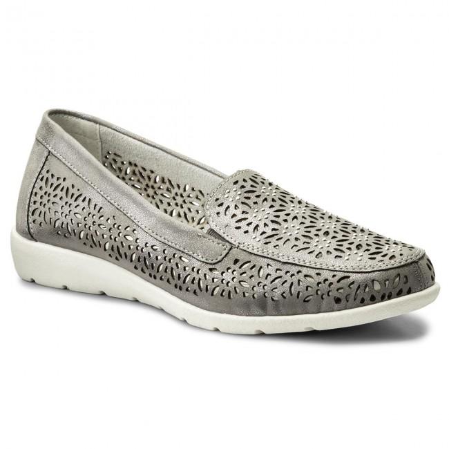 70ac00438242ce Shoes REMONTE BY RIEKER - D1918-42 Grey - Flats - Low shoes ...