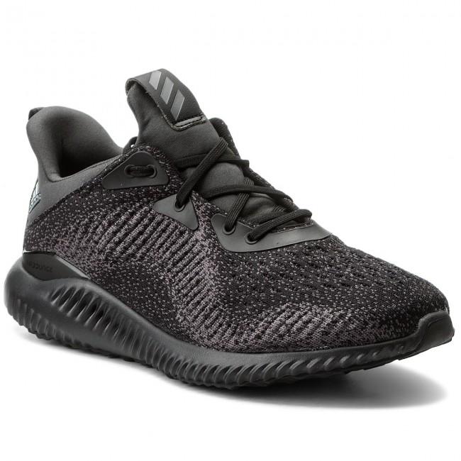 Zapatos adidas AlphaBounce em m db1090 cblack / ngtmet / carbono Indoor