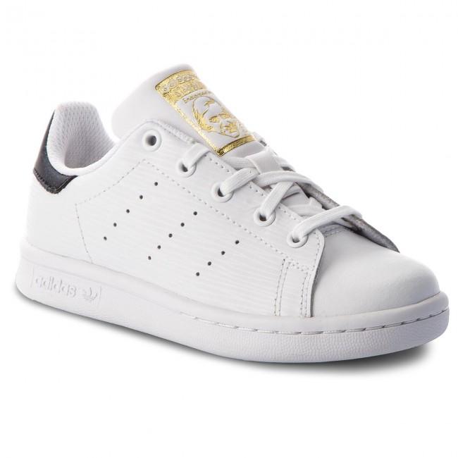 Shoes adidas - Stan Smith C CM8178 Ftwwht/Ftwwht/Goldmt