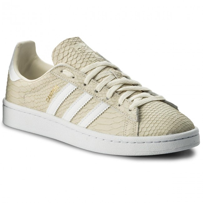 Shoes adidas - Campus W CQ2104 Cwhite Ftwwht Goldmt - Sneakers - Low ... 31df50372