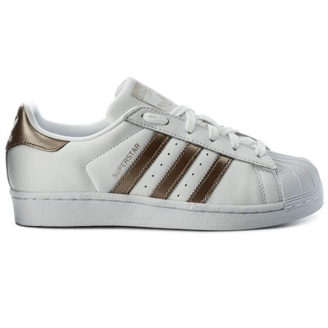 Shoes adidas - Superstar W CG5463 Ftwwht/Cybemt/Ftwwht