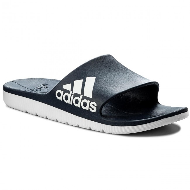 the latest 9b1f8 619cf Slides adidas - Aqualette Cf CM7929 ConavyFtwwhtFtwwht