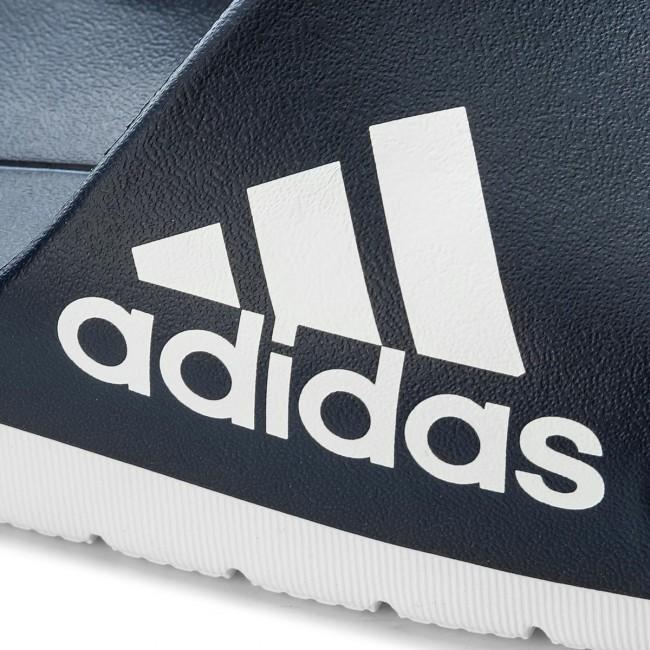 new concept 535b6 525c2 Slides adidas - Aqualette Cf CM7929 Conavy Ftwwht Ftwwht