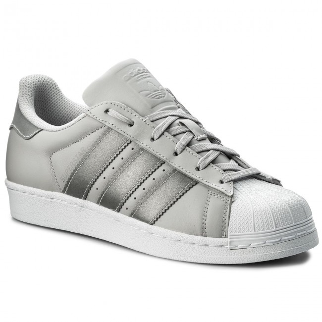 Shoes adidas - Superstar J CQ2689 Lgsogr/Silvmt/Ftwwht