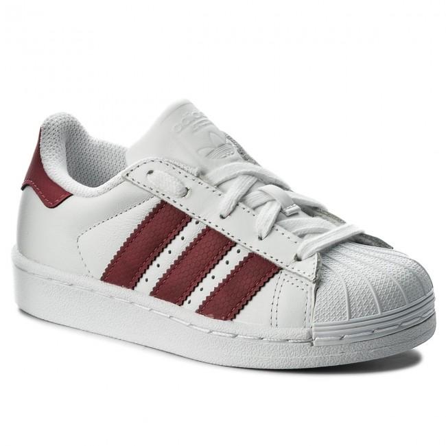 216ca22a6 Shoes adidas - Superstar C CQ2723 Ftwwht Ftwwht Cblack - Laced shoes ...