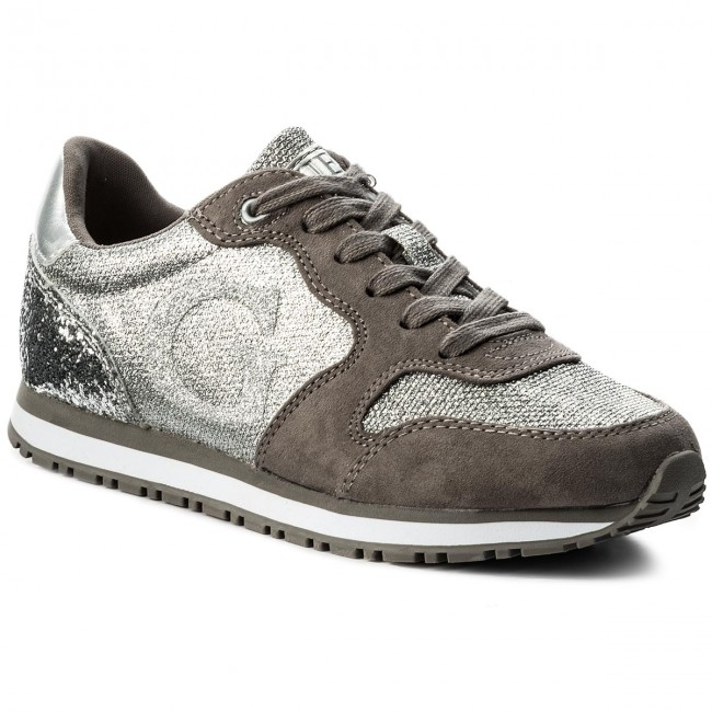 Sneakers Guess - Johnny Fljoh1 Fam12 Silve Wh5I66l