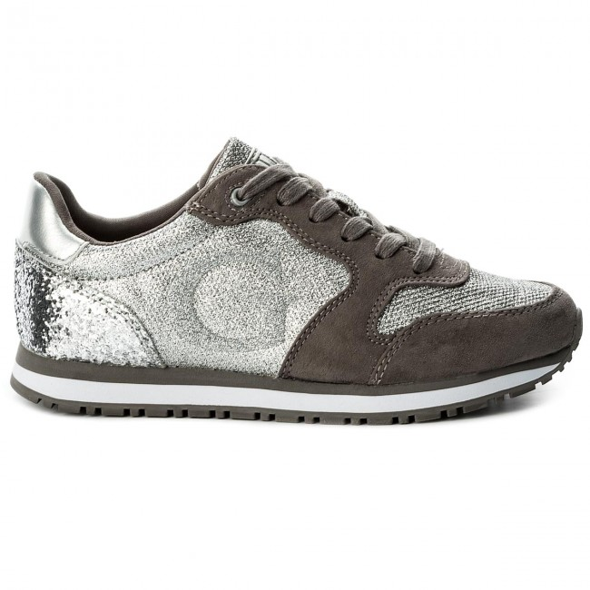 Sneakers Guess - Johnny Fljoh1 Fam12 Silve TvQYQ