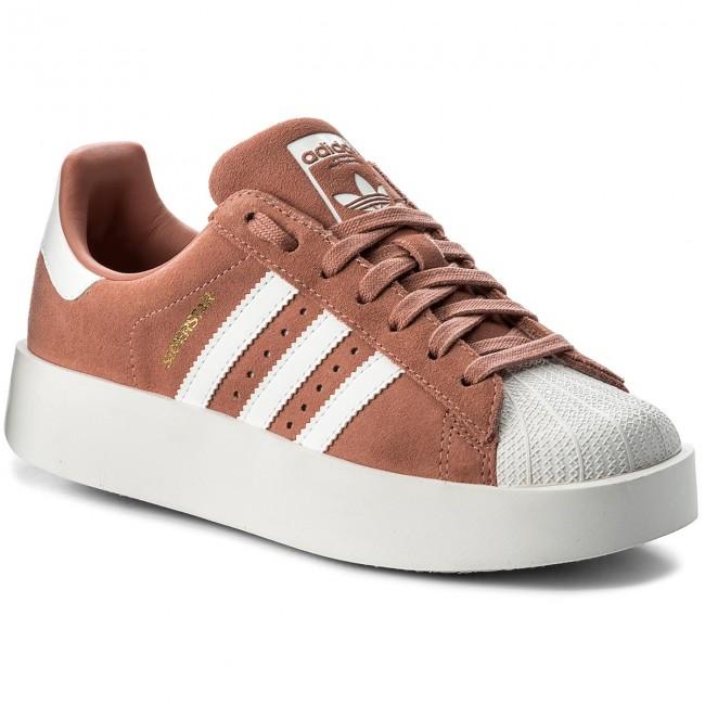 scarpe adidas superstar audace w cq2827 ashpnk / ftwwht / goldmt