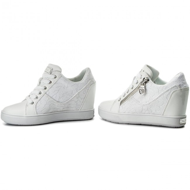 Sneakers GUESS - Fierze FLFIE1 ELE12 WHITE