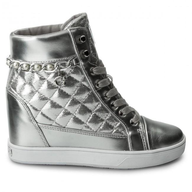 Sneakers GUESS - Forty FLFRT1 LEL12 SILVE