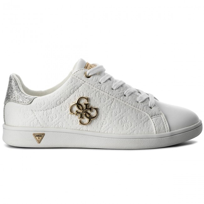 Sneakers GUESS - Baysic2 FLBYS1 LEA12 WHIWH