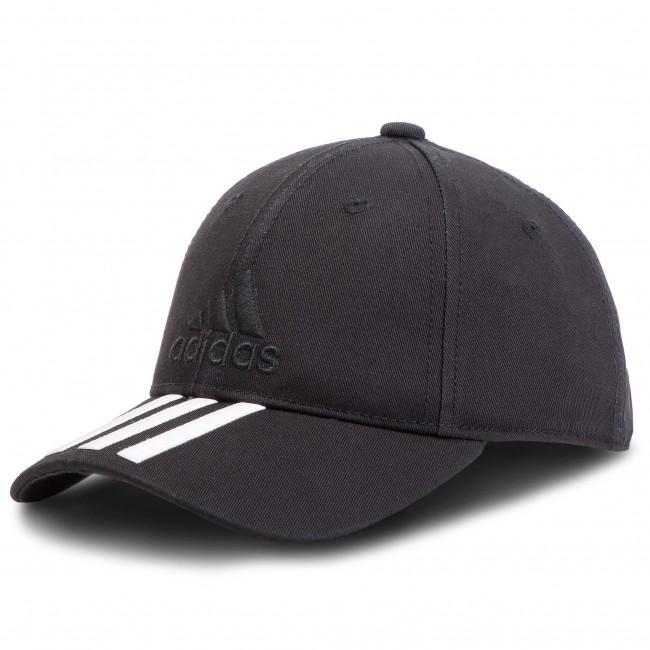 2098896ac61 Cap adidas - 6p 3s Cap Cotto S98156 Black Black White - Women s ...