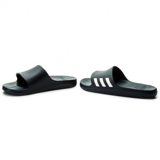 separation shoes e1f64 5b2b4 Slides adidas - Aqualette CG3537 Conavy Ftwwht Conavy