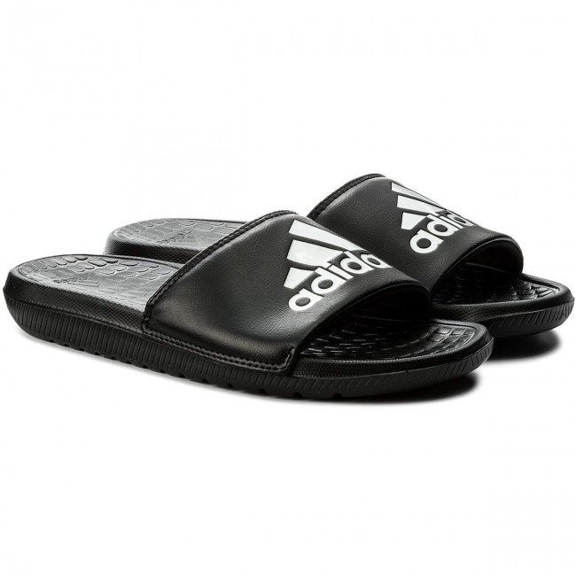 0aa500c50786fc Slides adidas - Voloomix CP9446 Cblack Ftwwht Cblack - Clogs and ...