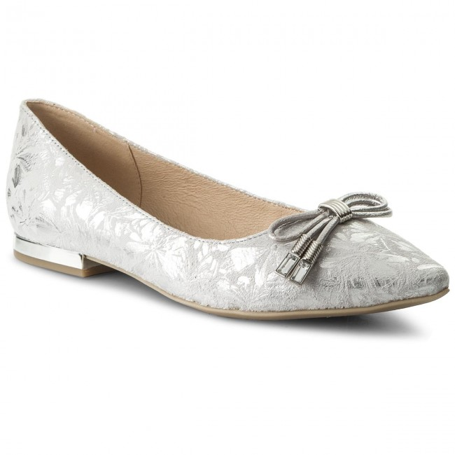 Shoes 9 207 Lt Multi Low 22119 20 Ballerina Flats Grey Caprice mNO8vnw0
