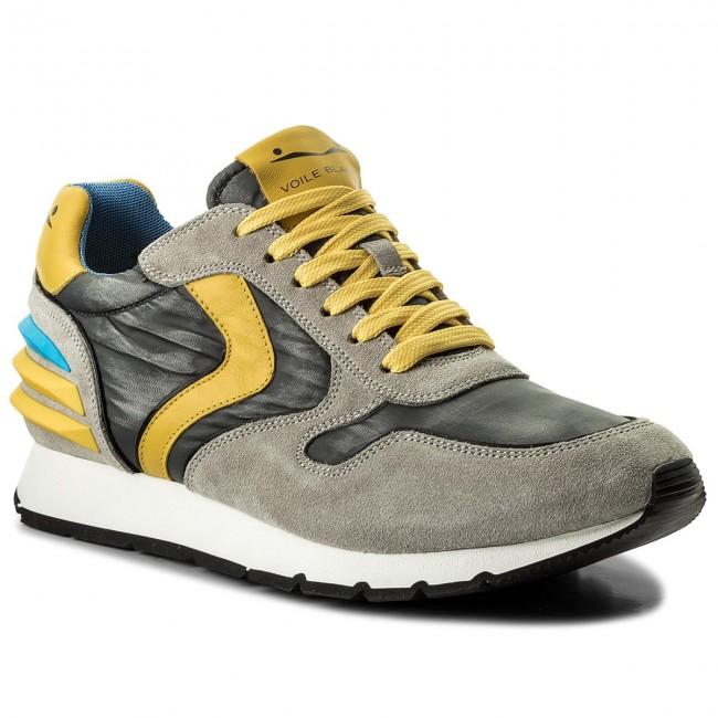 Sneakers VOILE BLANCHE - Liam Power 0012012246.03.9125 Grigio Giallo ... f6294dc51a6