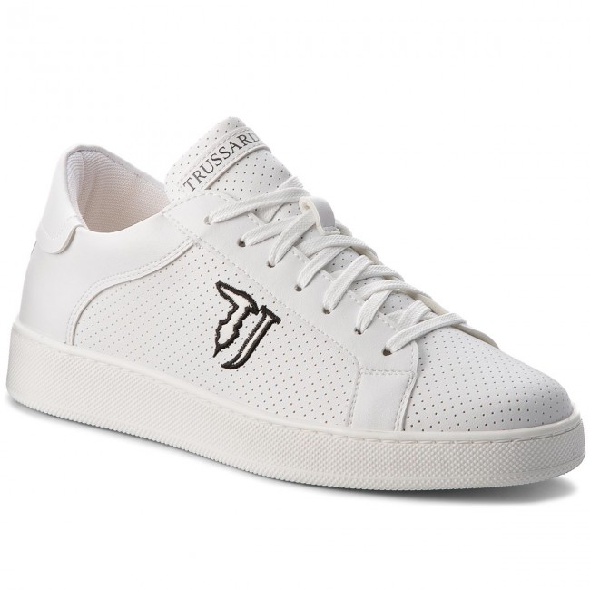 Sneakers TRUSSARDI JEANS - 77A00053 W001 - Sneakers - Low shoes ... 17ad8e9614e