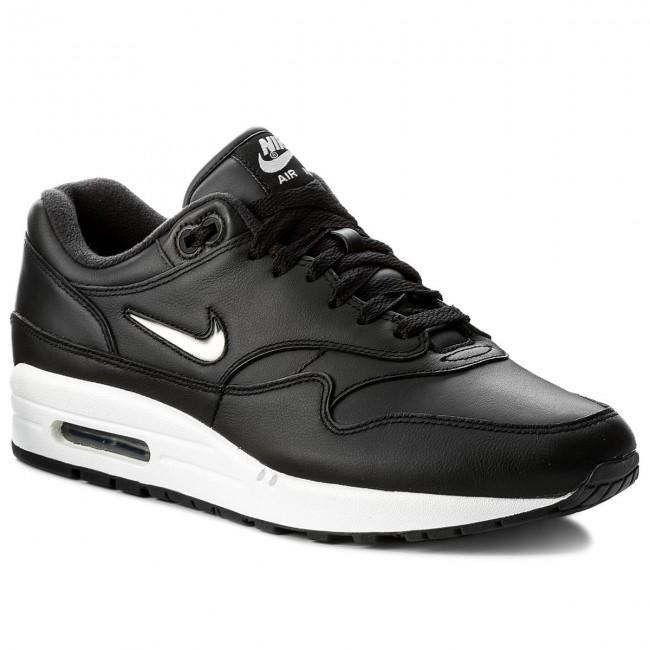 Shoes NIKE - Air Max 1 Premium Sc 918354 001 Black Metallic Silver ... b2bbf96664