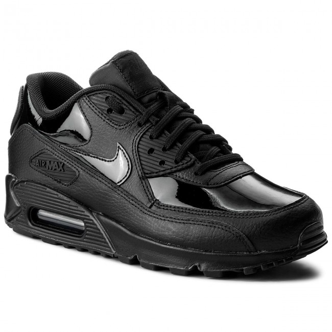 cb1248712c Shoes NIKE - Wmns Air Max 90 Lea 921304 002 Black/Black/Black ...
