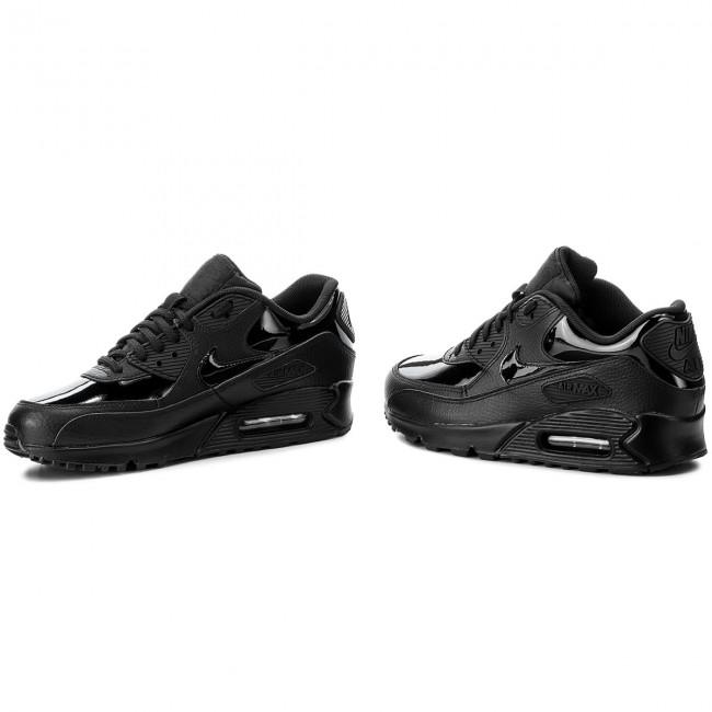 online store bd521 1e243 Shoes NIKE - Wmns Air Max 90 Lea 921304 002 Black Black Black - Sneakers -  Low shoes - Women s shoes - efootwear.eu
